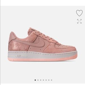 pink glitter mike air force 1